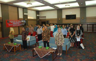 Kegiatan Sosialisasi Anti Korupsi di lingkungan Balai Besar Pendidikan dan Pelatihan Ekspor Indonesia (PPEI)