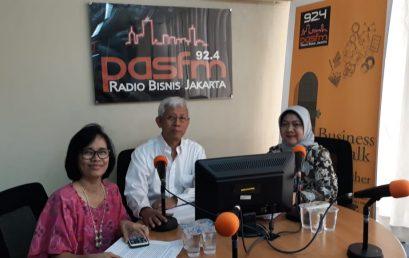 Acara Live Talkshow di Radio PAS FM, 31 Juli 2018
