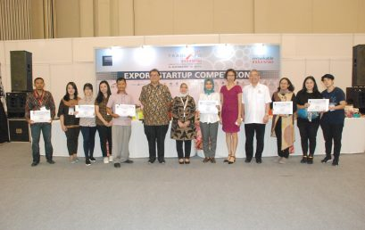 Genjot Ekspor, Kemendag Dukung Export Startup Competition