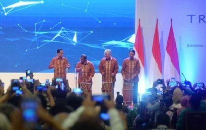 Pembukaan Trade Expo Indonesia 2018