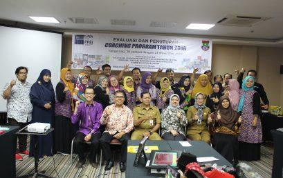 Evaluasi dan Penutupan Coaching Program di Kabupaten Tangerang