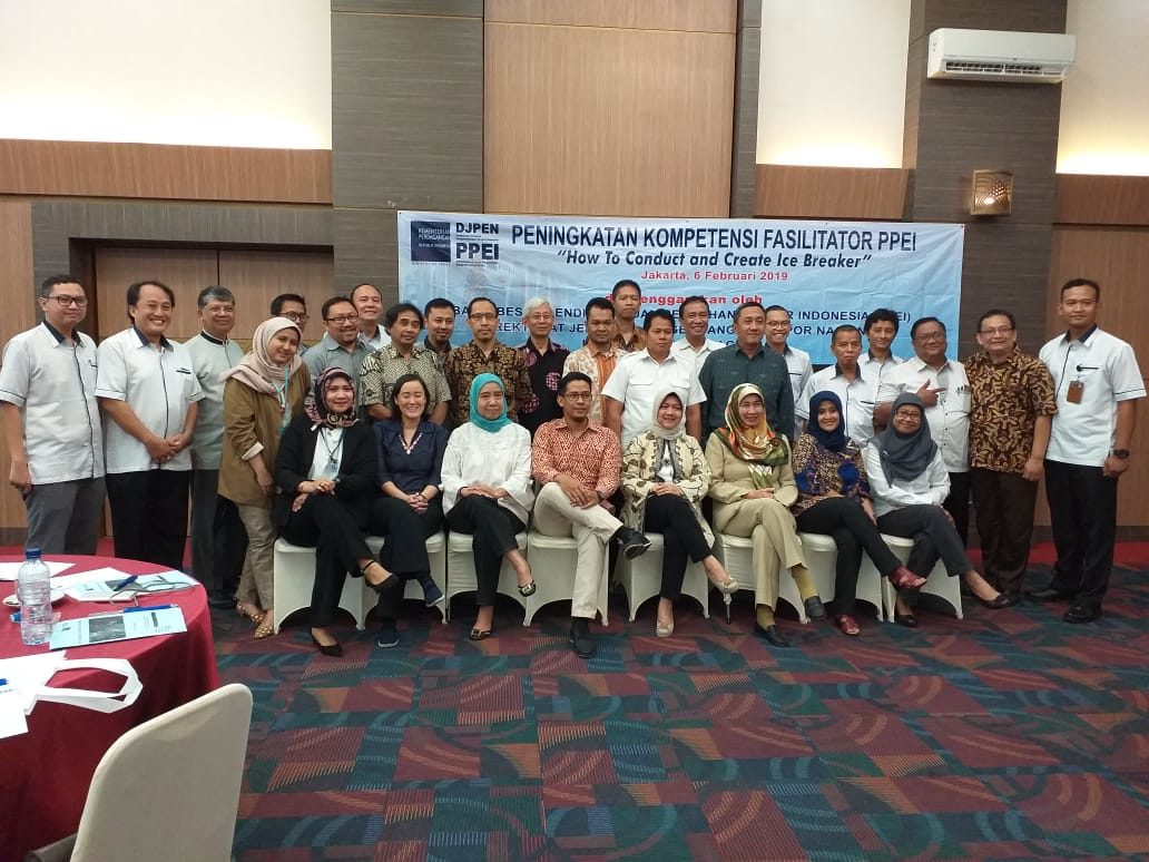 "Kegiatan Peningkatan Kompetensi Fasilitator ""How to conduct and create ice breaker"" tanggal 6 Februari 2019"