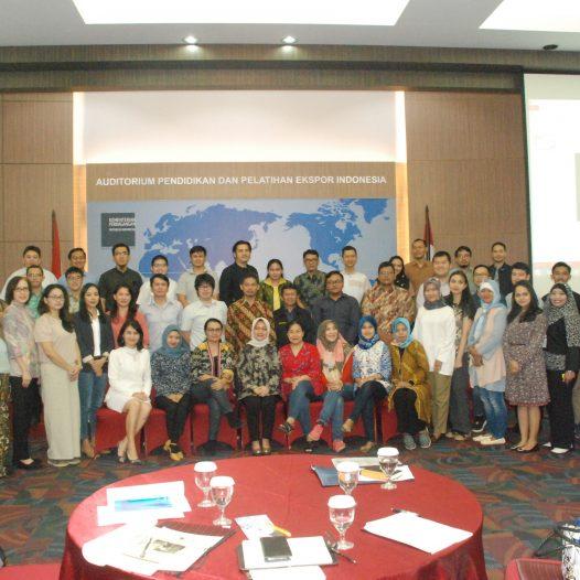 Workshop & Verifikasi Perusahaan dalam Rangkaian Kegiatan Export Coaching Program Jakarta tahun 2019