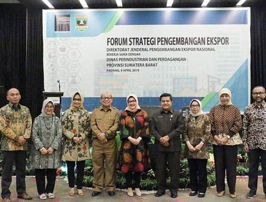 Forum Strategi Pengembangan Ekspor yang dilaksanakan pada tgl 9 April 2019