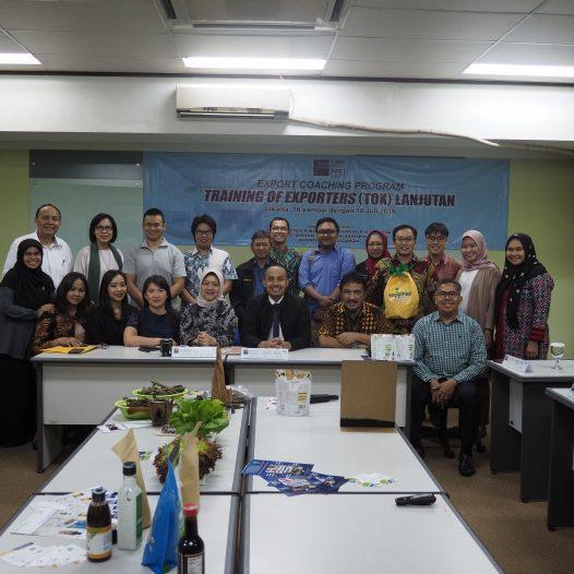 Kegiatan Penjurian pada Export Coaching Program (ECP) Jakarta 2019 Tahap 5