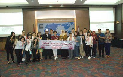 Kunjungan Mahasiswa Kun Shan University, Taiwan di PPEI didampingi oleh Universitas Tarumanagara