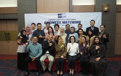 Kegiatan Business Matching dalam Rangka Export Coaching Program (ECP) 2019