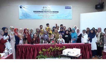 "Pembukaan Pelatihan ""Bagaimana Memulai Ekspor"" tanggal 5 – 7 November 2019 di Bukittinggi"
