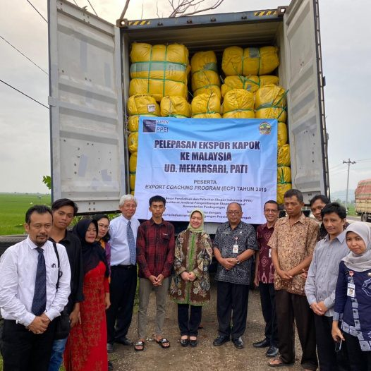 Pelepasan ekspor peserta Export Coaching Program tahun 2019