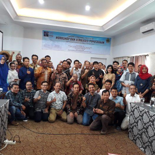 Pembukaan Workshop dan Verifikasi Perusahaan pada Export Coaching Program Tahun 2020 Wilayah Jawa Tengah