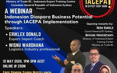 Indonesian Diaspora Business Potential through IACEPA Implementation