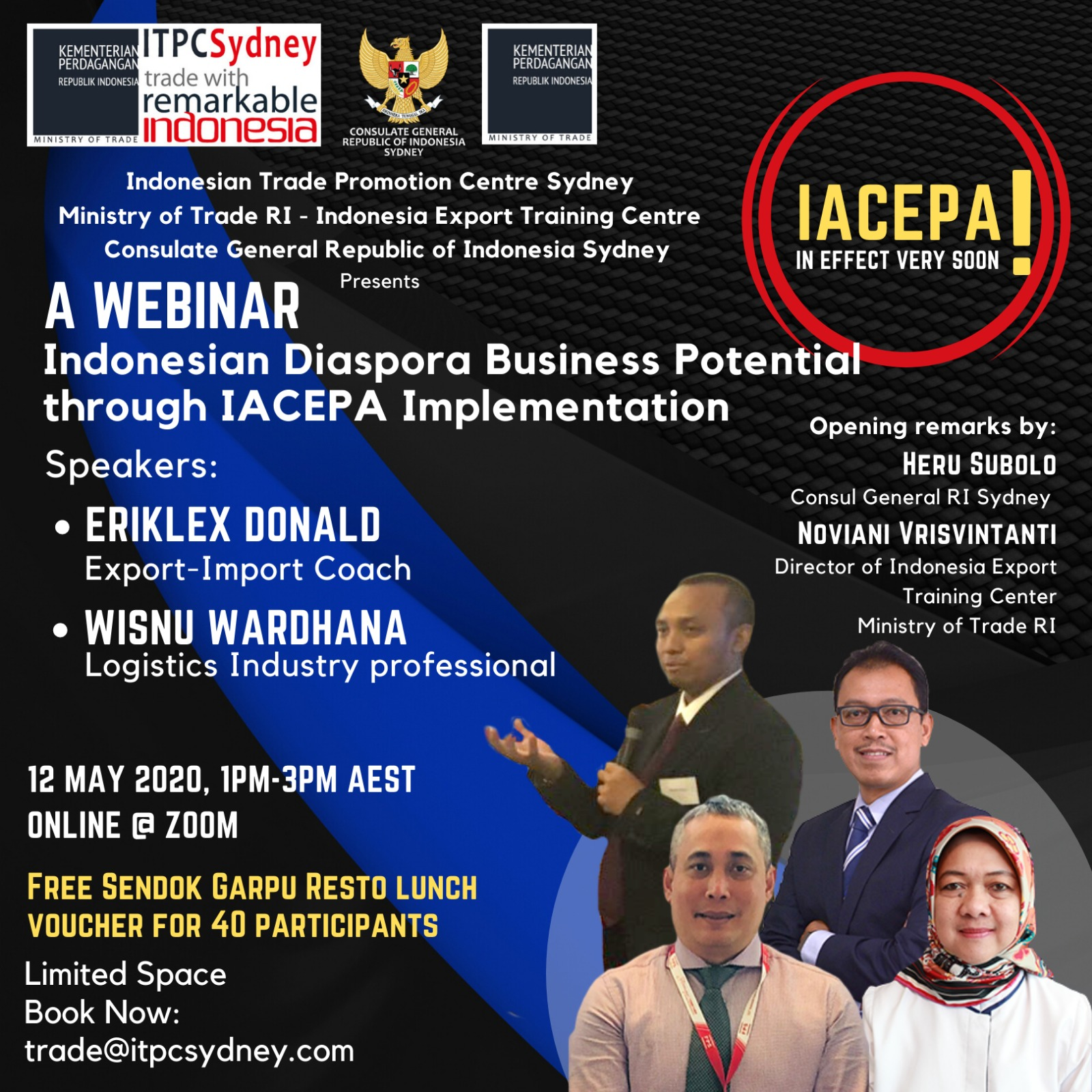 Indonesian Diaspora Business Potential through IACEPA Implementation