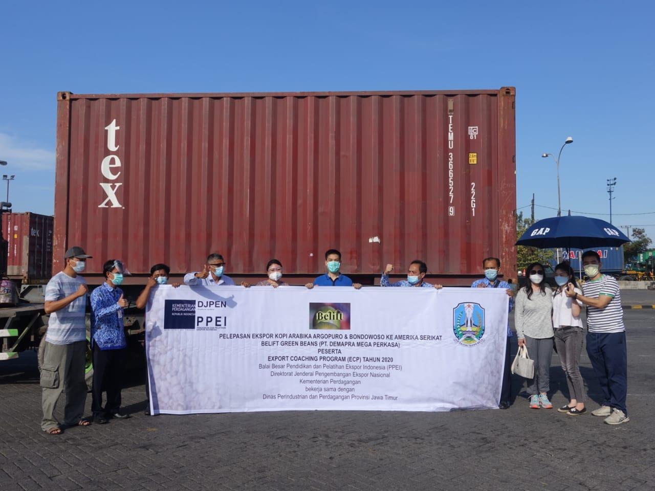 Peserta Export Coaching Program Wilayah Jawa Timur Berhasil Ekspor di Tengah Pandemi Covid-19