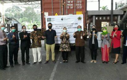 Pelepasan Ekspor Peserta Export Coaching Program Jawa Tengah, Citra Jepara Ekspor Furniture ke Amerika Serikat