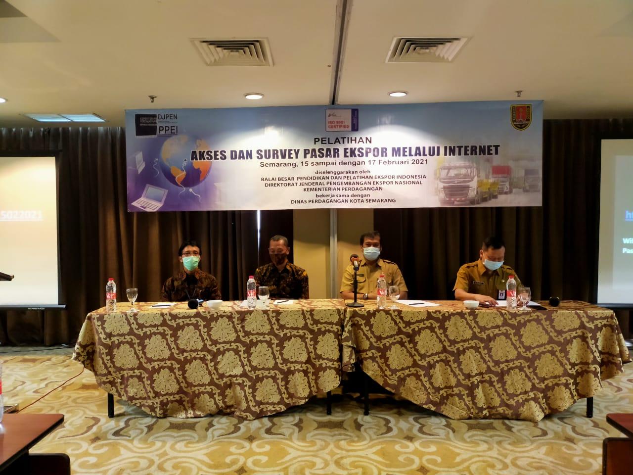 Pelatihan Ekspor untuk Pelaku Usaha di Kota Semarang