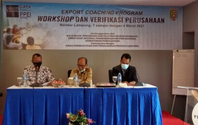 Export Coaching Program (ECP) 2021 di Provinsi Lampung