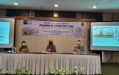 Pembukaan Kegiatan Training of Exporters (TOX) ECP Jabar 2021