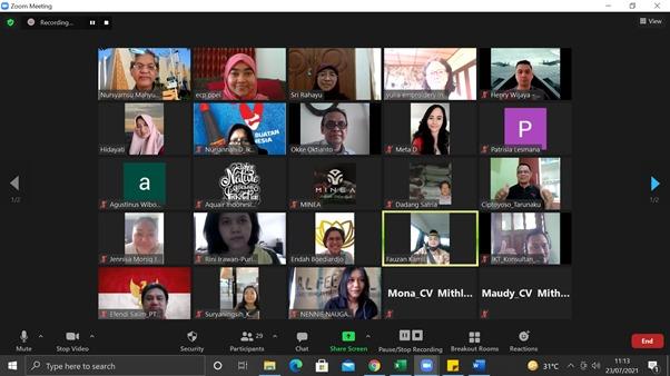 Pendampingan Secara Daring pada Export Coaching Program wilayah Jakarta