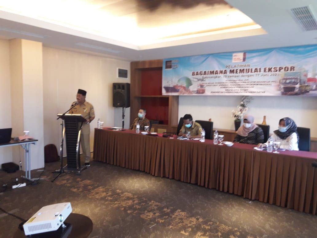 PPEI Gelar Pelatihan Ekspor di Tanah Datar dan Export Coaching Program Wilayah Jawa Timur